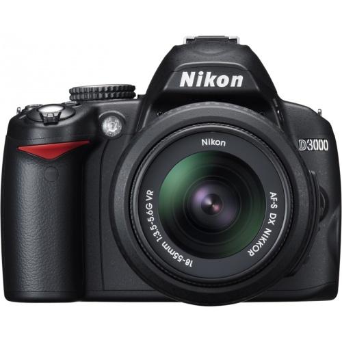 Nikon D3000 (Kit AF-S DX 18-55 VR)