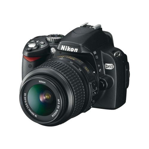 Nikon D60 (kit AF-S DX 18-55 ED II)