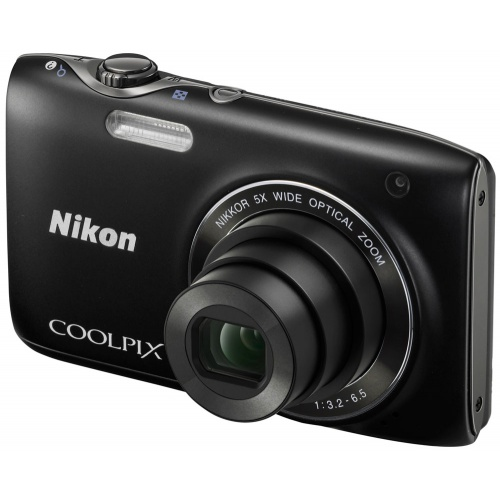 Фотография Nikon Coolpix S3100 black