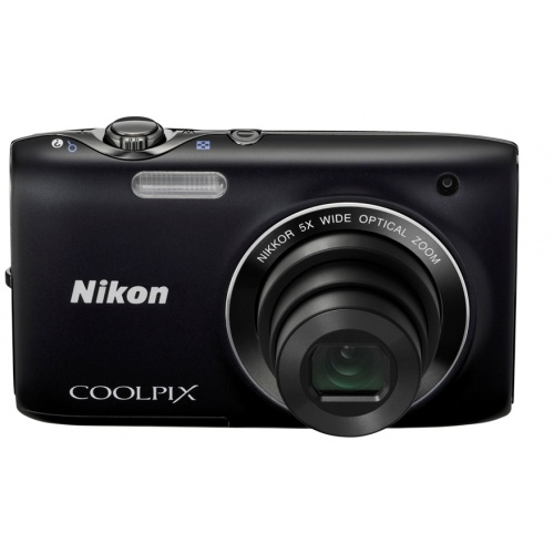Фото Nikon Coolpix S3100 black