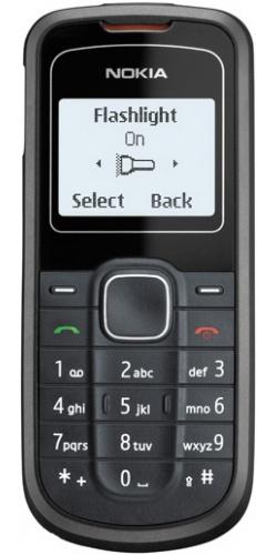 Фото телефона Nokia 1202 black