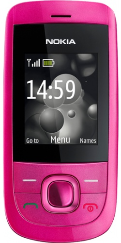 Nokia 2220 slide hot pink