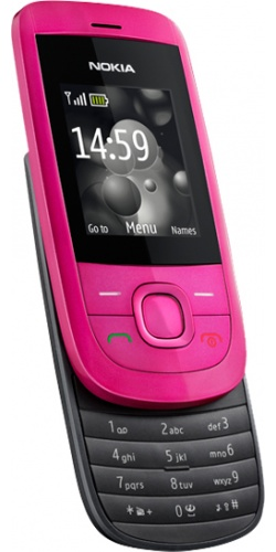 Фото телефона Nokia 2220 slide hot pink