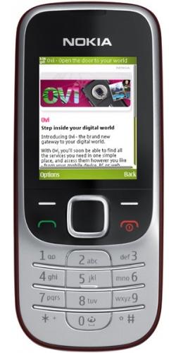 Nokia 2330 classic red