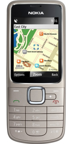 Nokia 2710 Navi Edition silver