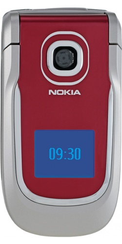 Nokia 2760 velvet red
