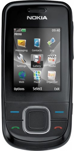 Nokia 3600 slide charcoal