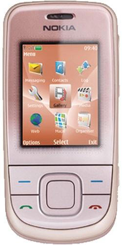 Nokia 3600 slide pink