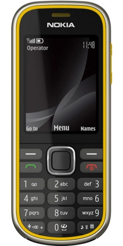 Nokia 3720 classic yellow