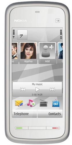 Nokia 5228 silver