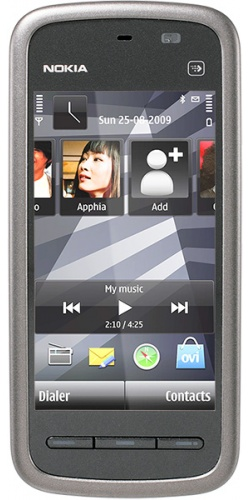 Nokia 5230 black chrome
