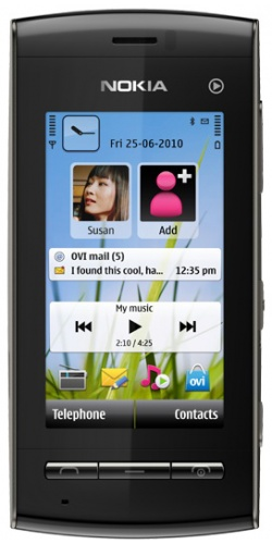 Nokia 5250 dark grey