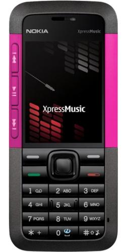 Nokia 5310 XpressMusic pink