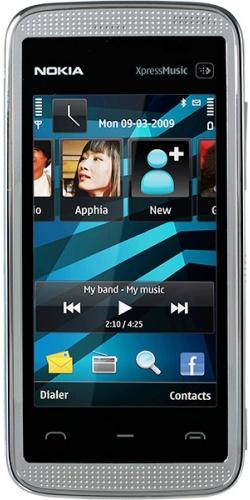 Nokia 5530 XpressMusic white blue