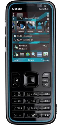 Nokia 5630 XpressMusic grey blue