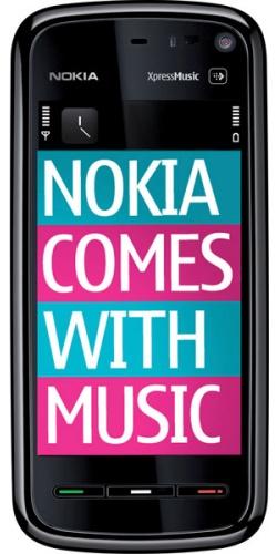 Фото телефона Nokia 5800 XpressMusic black