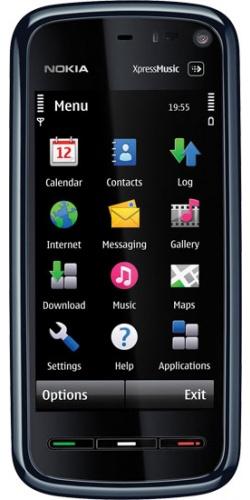 Nokia 5800 XpressMusic red