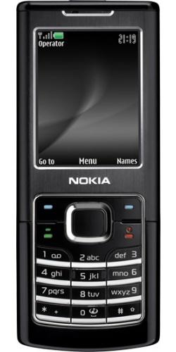 Nokia 6500 classic black