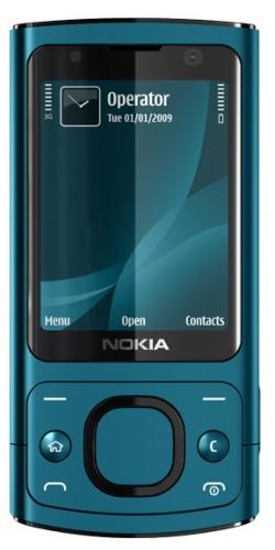 Nokia 6700 slide petrol blue