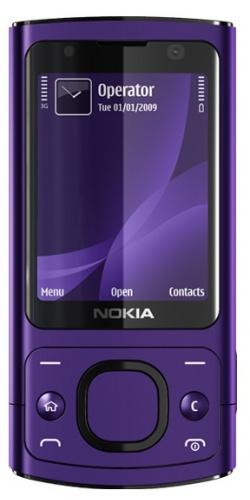Nokia 6700 slide purple