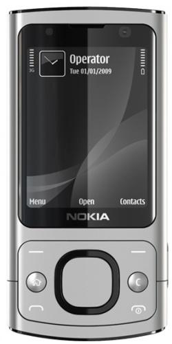 Nokia 6700 slide raw aluminium