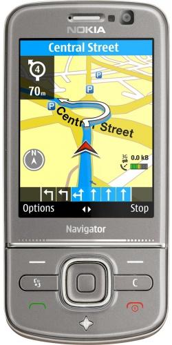 Nokia 6710 Navigator titanium