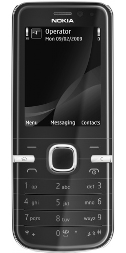 Nokia 6730 classic black