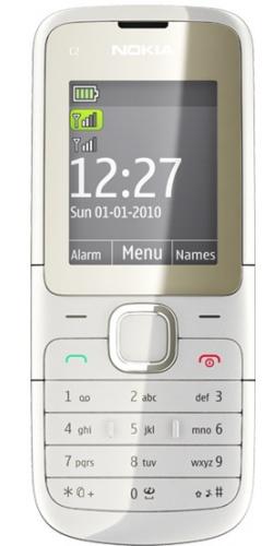 Nokia C2-00 white