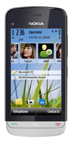 Nokia C5-03 aluminum grey