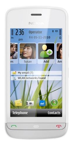 Nokia C5-03 white alum grey