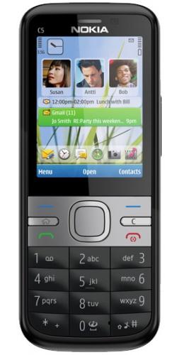 Nokia C5-00 black