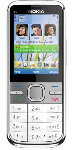 Nokia C5-00 white