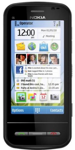 Nokia C6-00 black
