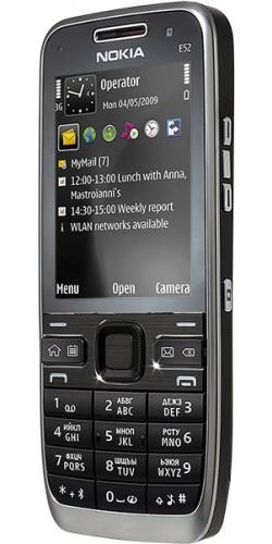 Фото телефона Nokia E52 black