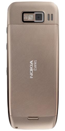 Фото телефона Nokia E52 golden aluminium
