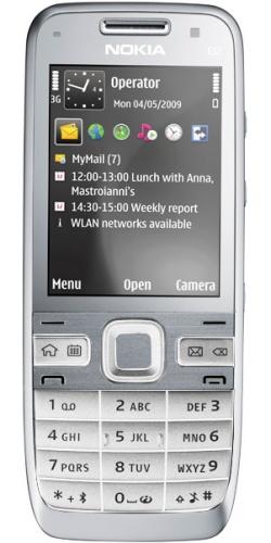 Фото телефона Nokia E52 white