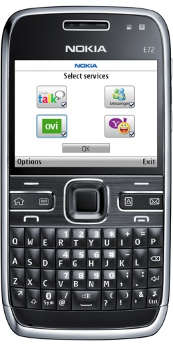 Фото телефона Nokia E72 zodium black