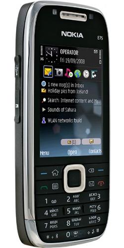 Фото телефона Nokia E75 black