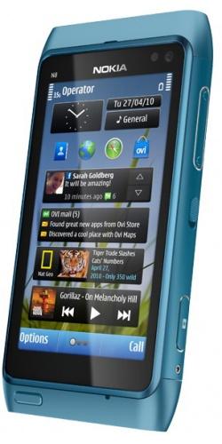 Фото телефона Nokia N8-00 blue