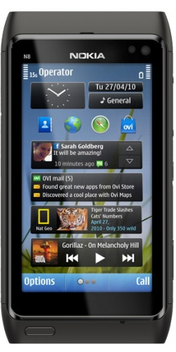 Nokia N8-00 dark grey