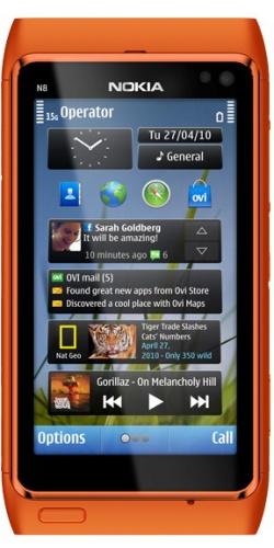 Фото телефона Nokia N8-00 orange