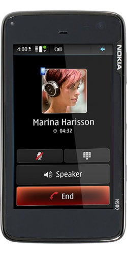 Фото телефона Nokia N900 black