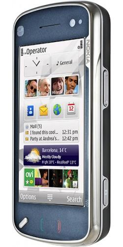 Фото телефона Nokia N97 black