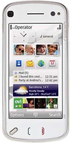 Nokia N97 Navi white