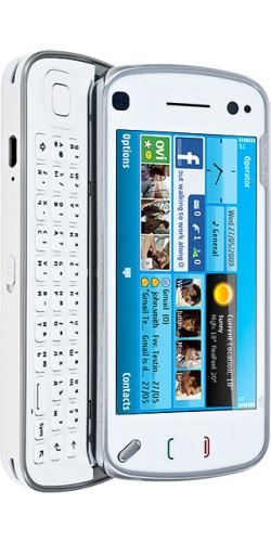 Фото телефона Nokia N97 Navi white