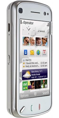 Фото телефона Nokia N97 white