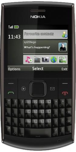Nokia X2-01 deep grey
