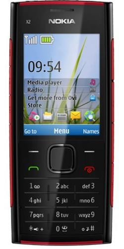 Nokia X2-00 red