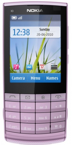 Nokia X3-02 Touch and Type lilac