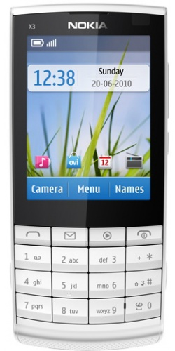 Nokia X3-02 Touch and Type white
